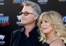 Goldie Hawn and Kurt Russell. At the Los Angeles premiere of `Guardians Of The Galaxy Vol. 2` held at the Dolby Theatre in Hollywood, USA on April 19, 2017 Stock Images