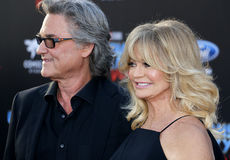 Goldie Hawn and Kurt Russell Royalty Free Stock Image