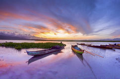 Goldie jezioro Zdjęcie Stock