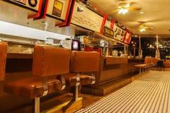Goldie` s Diner 66, Williams, Arizona stock foto's