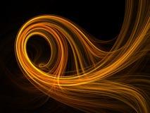 Goldie Swirl Stock Image