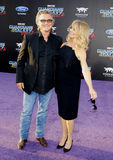 goldiehawn kurt russell Royaltyfria Foton