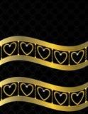Goldinneres gekopierter Hintergrund 11 Stockfotografie