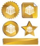 Goldish - Air Conditioner Units Stock Images