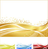 Goldish background Royalty Free Stock Photo