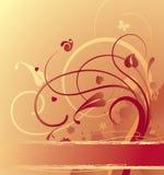 Goldish background. Raster version of vector goldish background Royalty Free Stock Photo