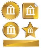 Goldish - Bank Building Royalty Free Stock Photo