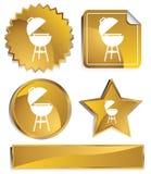 Goldish - BBQ Stock Photo