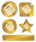 Goldish - Calculator Royalty Free Stock Image