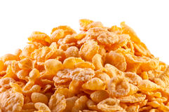 Goldish corn flakes Stock Photography