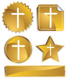 Goldish - Cross Stock Images