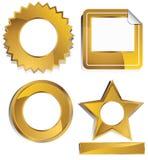 Goldish - Labels vector illustration