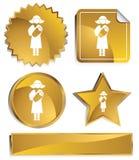 Goldish - Newborn Stock Images