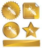 Goldish - Termieten Royalty-vrije Stock Foto's