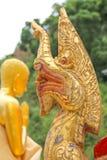 Goldkönig von Nagas Lizenzfreie Stockbilder