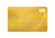 Goldkarte Stockfotografie