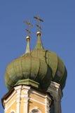 Goldkreuze der orthodoxen Kirche Lizenzfreie Stockfotografie