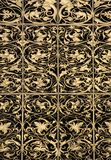 Goldleaf ornamental pattern Stock Images