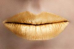 Goldlippen Lizenzfreie Stockbilder