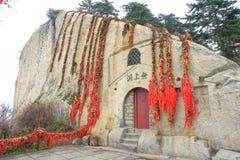 Goldlocks et temple de grotte images libres de droits