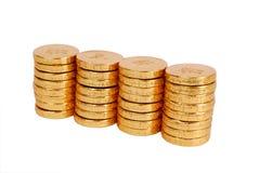 Goldmünze Stockbild