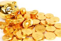 Goldmünze Stockbilder