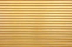 Goldmalerei-Fensterladen-Tür Lizenzfreies Stockfoto