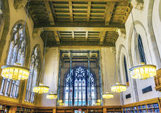 Goldman Law Library Yale University New Haven Connecticut Royalty Free Stock Photography