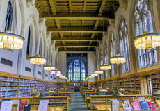 Goldman Law Library Yale University New Haven Connecticut Royalty Free Stock Image