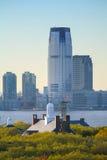 Goldman Sachs Góruje w Dżersejowym mieście Obrazy Stock