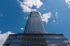 Goldman Sachs tower. The modern Goldman Sachs Tower in Jersey City, the largest skyscraper in New Jersey stock photo