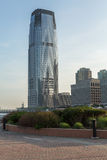 Goldman Sachs Tower in Exchange Place Jersey City NJ Royalty Free Stock Photos