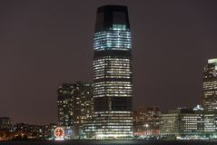 Goldman Sachs Tower - Jersey City som är nya - ärmlös tröja Arkivbild