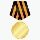 Goldmedaille Lizenzfreies Stockbild