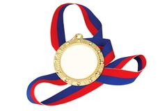 Goldmedaille stockbilder