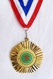 Goldmedaille von China Stockbilder