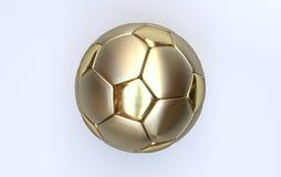 Goldmeisterschaftsfußball Stockfotos