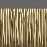 Goldmetallbeschaffenheitshintergrund Abbildung 3D Vektor Abbildung