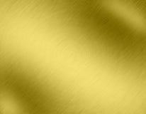 Goldmetallhintergründe Lizenzfreie Stockfotografie