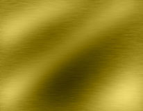 Goldmetallhintergründe Lizenzfreies Stockbild