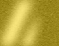 Goldmetallhintergründe Stockfotografie