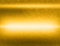 Goldmetallhintergründe Lizenzfreies Stockfoto