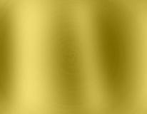Goldmetallhintergrund Lizenzfreies Stockfoto