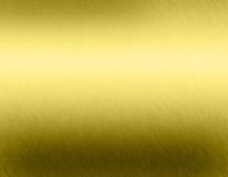 Goldmetallhintergrund Stockfotos
