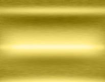 Goldmetallhintergrund Lizenzfreie Stockbilder