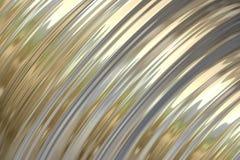 Goldmetallischer Sheen-Hintergrund Stockfotografie