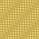 Goldmetallisches regelmäßiges nahtloses Muster Stockfoto