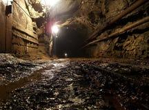 Goldmine Stockbild