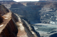 Goldmine de Kalgoorlie Image libre de droits