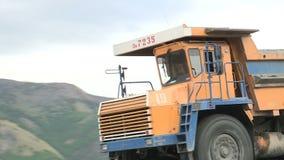 Goldmine in Yakutia stock video footage